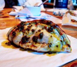 Provolone & Caramelised Onion Empanada